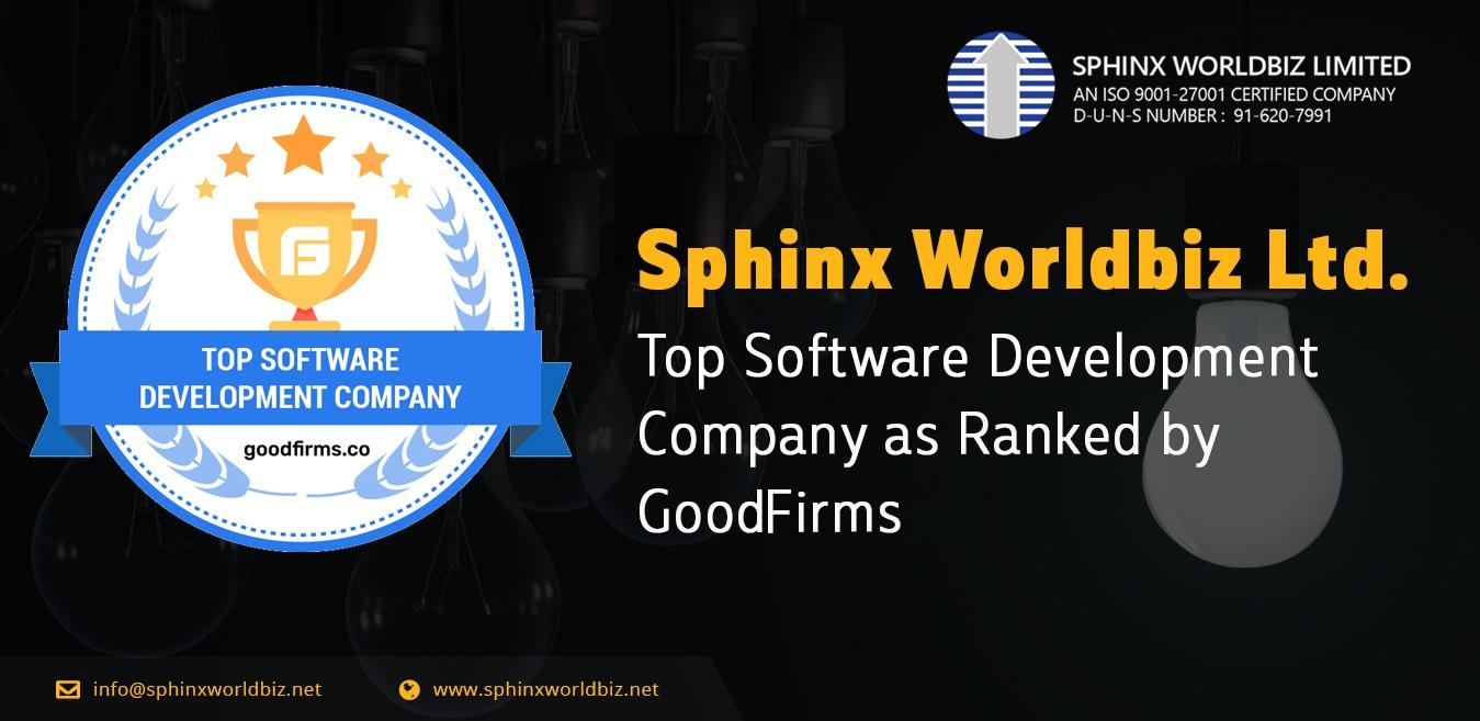 GoodFirms Ranks Sphinx Worldbiz as a Top Software Development Company