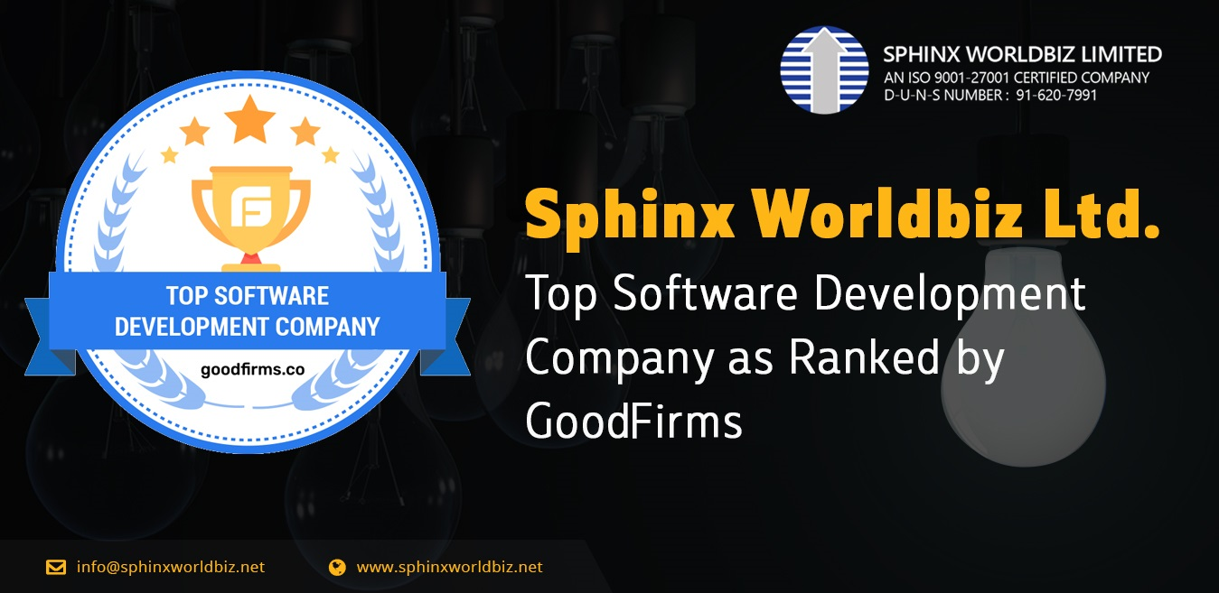 Sphinx Worldbiz Gets Ranked as a Top Software Development Company by GoodFirms